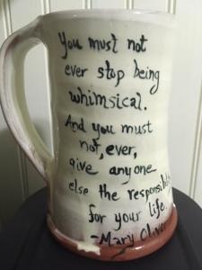 Mary Oliver Mug