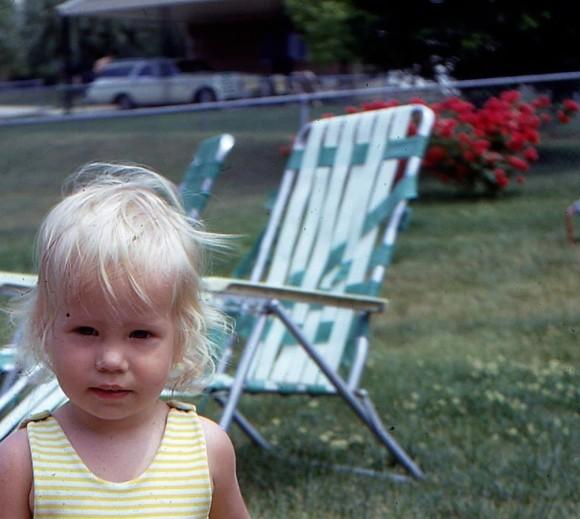 back yard chair
