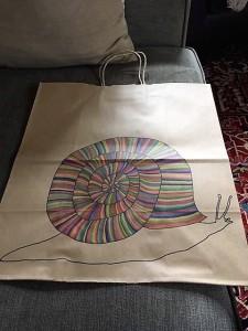 snail bag