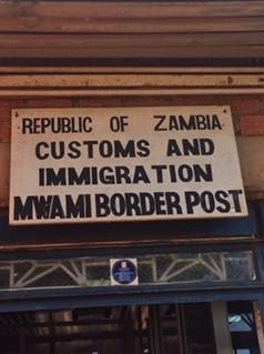 Zambia border
